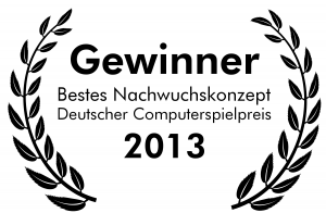 German Computer Games Award 2013 - Best Newcomer Concept